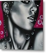 Alicia Keys Metal Print