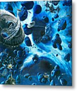 Alien Pirates  Metal Print