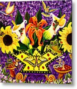 All Gods Creatures Metal Print by Adele Moscaritolo