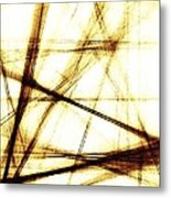 Along These Lines Metal Print