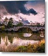 Alyesford Bridge Metal Print