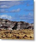 Amber Waves Of Grain And Purple Mountains Metal Print