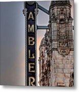Ambler Theater - Ambler Pa Metal Print