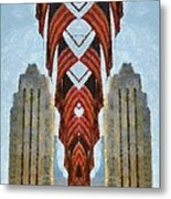 American Architecture Metal Print