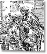 Amman: Dentist, 1568 Metal Print