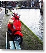 Amsterdam Landscape Metal Print