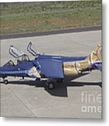 An Alpha Jet Of The Portuguese Air Metal Print