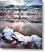 An Okanagan Winter Metal Print