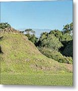 Ancient Mayan Ruins, Altun Ha, Belize Metal Print