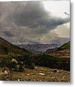 Andean Hills Metal Print by Tyler Lucas