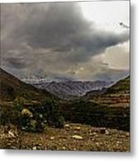 Andean Hills Metal Print