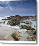 Anna Bay Sunset Metal Print by Steve Caldwell