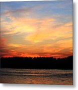 Another Great Day Ends Metal Print