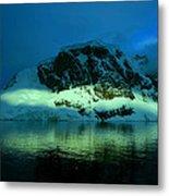 Antarctic Fiord Metal Print