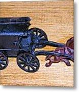 Antique Cast Iron Toy Metal Print
