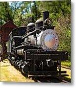 Antique Locomotive Metal Print