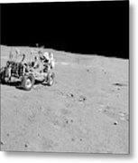 Apollo 16 Lunar Rover Metal Print