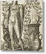 Apollo Pythias, The Greek God Metal Print