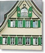 Appenzell Switzerland's Famous Windows Metal Print