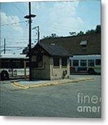 Archer/neva Cta Bus Terminal Metal Print