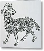 Aries An Illustration From The Poeticon Metal Print