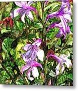 Art In The Garden II Metal Print