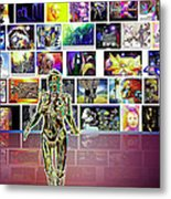 Art  Panorama  Metal Print
