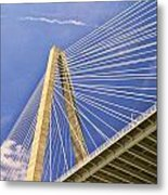 Arthur Ravenel Jr. Bridge 2 Metal Print