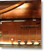Arts Et Metiers Metro Metal Print