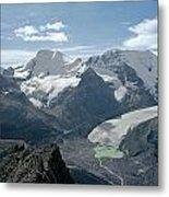 T-303504-athabasca Glacier In 1957 Metal Print