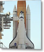 Atlantis Space Shuttle Metal Print