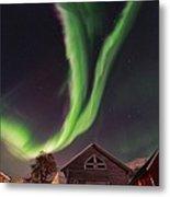 Aurora Borealis, Norway Metal Print