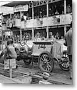 Auto Racing, 1910 Metal Print
