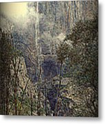 Autumn View Of The Falls Metal Print
