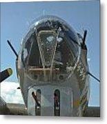 B-17 Nose Metal Print