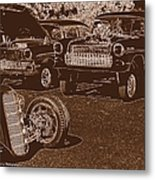 Back In The Day Metal Print