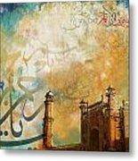 Badshahi Mosque Metal Print