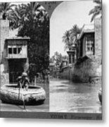 Baghdad Tigris, C1914 Metal Print