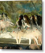 Ballet At The Paris Opera Metal Print