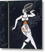 Ballet Scene With Tamara Karsavina Metal Print