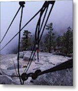 Bandaloop Dance Company, Yosemite, Ca Metal Print