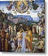Baptism Of Christ Metal Print