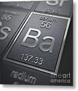 Barium Chemical Element Metal Print