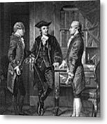 Baron De Kalb (1721-1780) Metal Print