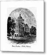 Barton Academy - Mobile Alabama Metal Print