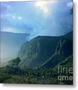 Base Camp Metal Print by Steven Valkenberg