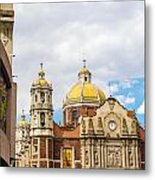 Basilica Of Our Lady Of Guadalupe Metal Print