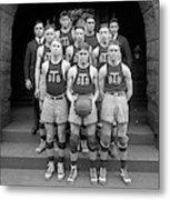 Basketball Team, 1920 Metal Print