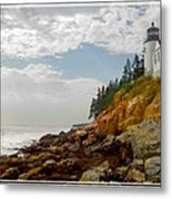 Bass Harbor Head Lighthouse Metal Print by Mike McGlothlen