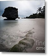 Bathsheba Beach Barbados Metal Print